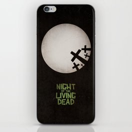 Night of the Living Dead iPhone Skin
