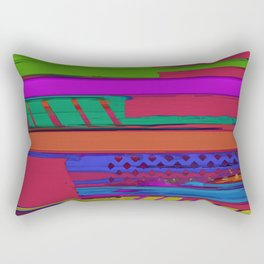 Urban shift Rectangular Pillow