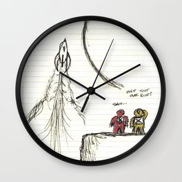 Ditched Wall Clock