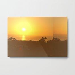 Here Comes the Sun - San Diego Metal Print