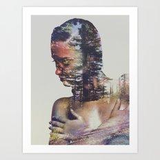 Wilderness Heart II Art Print