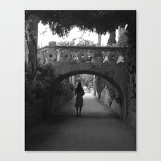 A Path in Ravello, Italy Canvas Print