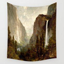 Bridal Veil Falls, Yosemite Valley 1892 Wall Tapestry