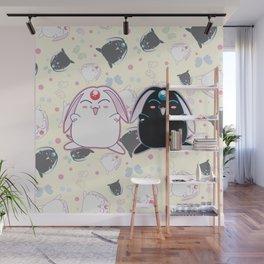Black & White Mokona Wall Mural