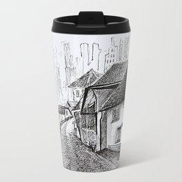 Architecture Sketch, Germany Travel Mug