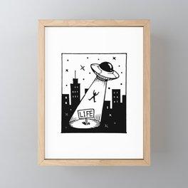Take me away Framed Mini Art Print