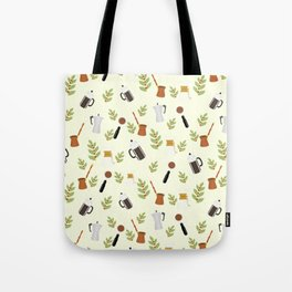 brewing pattern Tote Bag