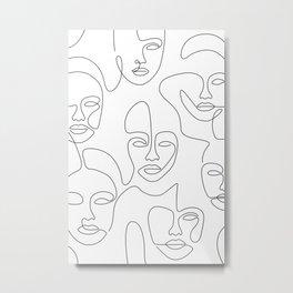 Beauty Portraits Metal Print