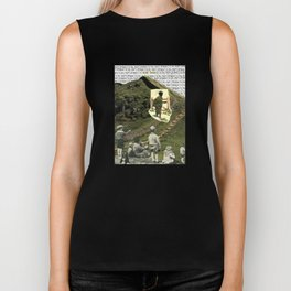 Are You On The Fence About Useless Information ? Biker Tank