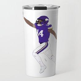 Stefon Diggs Catch American Football NFL Travel Mug