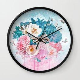FLORAL EVA Wall Clock