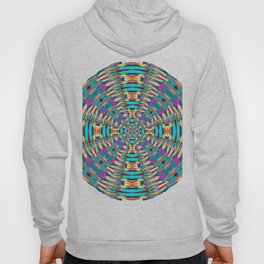 321 - Abstract Colourful Orb design Hoody