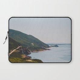 Cabot Trail in Cape Breton Nova Scotia Laptop Sleeve