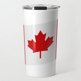 flag canada Travel Mug