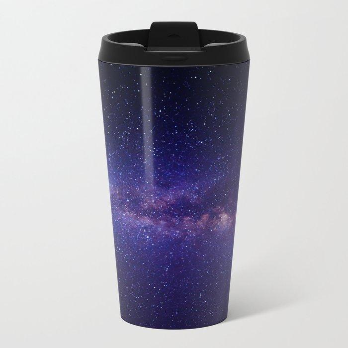 Summer Shore Galaxy Metal Travel Mug