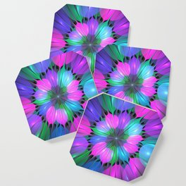 Colorful and Luminous Fractal Coaster