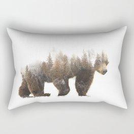 Forest Bear Rectangular Pillow