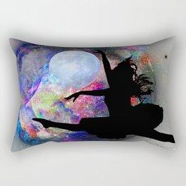 Dancing in the moon Rectangular Pillow