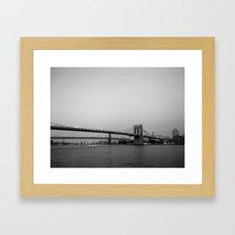 maybe its love Framed Art Print