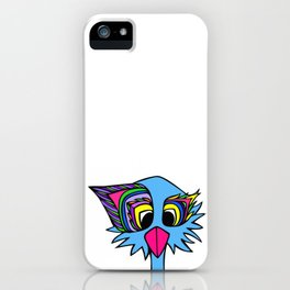 Ostrich Goes Pop iPhone Case