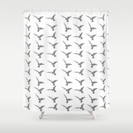 Flight of falcons Shower Curtain