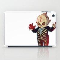 onesie iPad Cases featuring Kewpie by Jordan Lewerissa