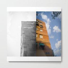 Vecindario Metal Print