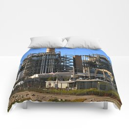 Natural Gas Power Plant Comforters