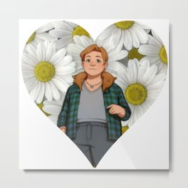 Dream Daddy: Daisy Metal Print