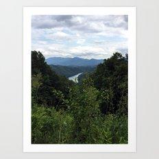 Great Smokey Mountains National Park Art Print