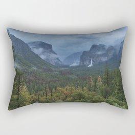 Yosemite Tunnel View Rectangular Pillow