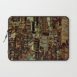 new york city skyscrapers Laptop Sleeve