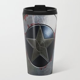 Captain Armor Shield Travel Mug