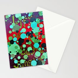 .bubble jungle. Stationery Cards