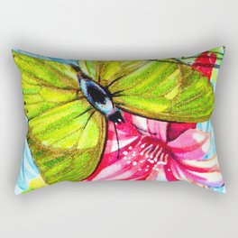 Butterfly Charaxes Eupale Rectangular Pillow