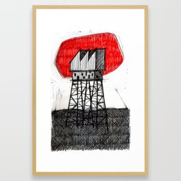 Imaginary architectures #26 Framed Art Print