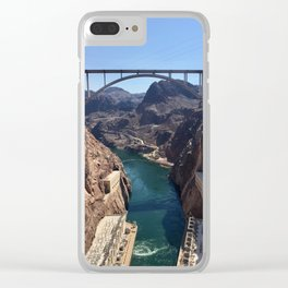 Hoover Dam Clear iPhone Case