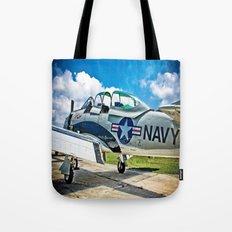 US Navy Airplane Tote Bag