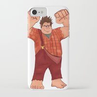 wreck it ralph iPhone & iPod Cases featuring I'm Gonna Wreck It! by shaunaoconnor