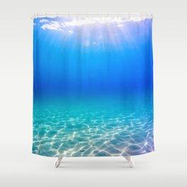 One Deep Breath Shower Curtain