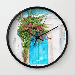 Tunisian door Wall Clock