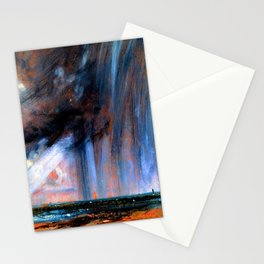 John Constable Rainstorm Over the Sea Stationery Cards