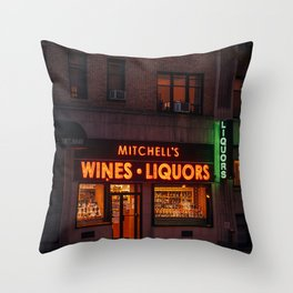 Mitchell's, Upper West Side Throw Pillow