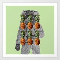Ananas 001 Art Print