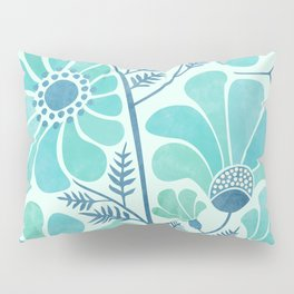 Himalayan Blue Poppies Pillow Sham