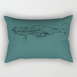 FW - 190 (Colour) Rectangular Pillow