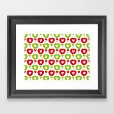 Love Apple Kaur Framed Art Print