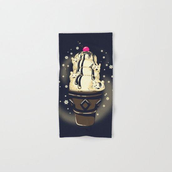 Ice Cream Bears (Dark Blue) Hand & Bath Towel