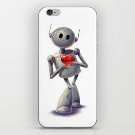 Luvbot iPhone Skin
