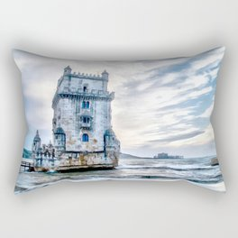 Belém Tower, Lisbon (Portugal) Rectangular Pillow